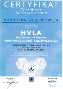 Agnieszka Szczerbowska -  HVLA