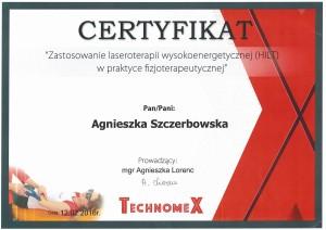 Agnieszka Szczerbowska - Laser wysokoenergetyczny