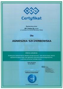 Agnieszka Szczerbowska - terapia falą uderzeniową oraz laserem wysokoenergetycznym