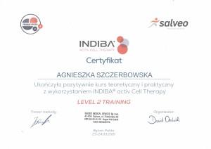Agnieszka Szczerbowska -  Indiba Level2