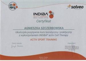 Agnieszka Szczerbowska -  Indiba Sport