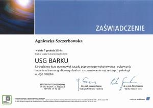 Agnieszka Szczerbowska - diagnostyka USG