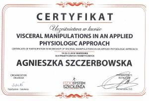 Agnieszka Szczerbowska - Terapia wisceralna